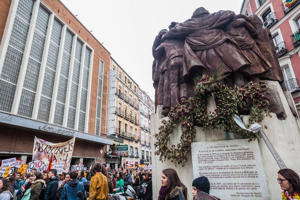 January 24, 1977: Shootings in Spain