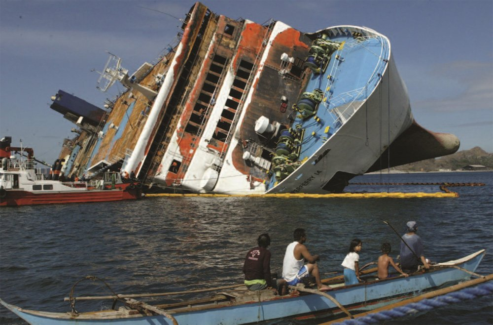 February 27, 2004: SuperFerry bombed in the Philippines