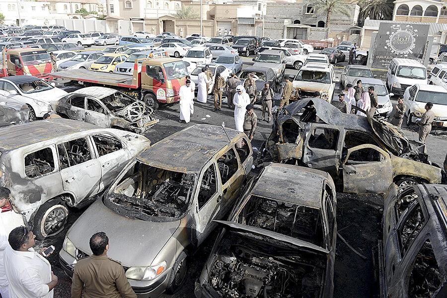 April 21, 2004: Suicide bomber hits police building in Saudi Arabia